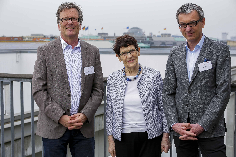 Prof. Dr. Rita Süssmuth, Bundestagspräsidentin a.D. auf der Bundesfachtagung des SprInt-Netzwerks