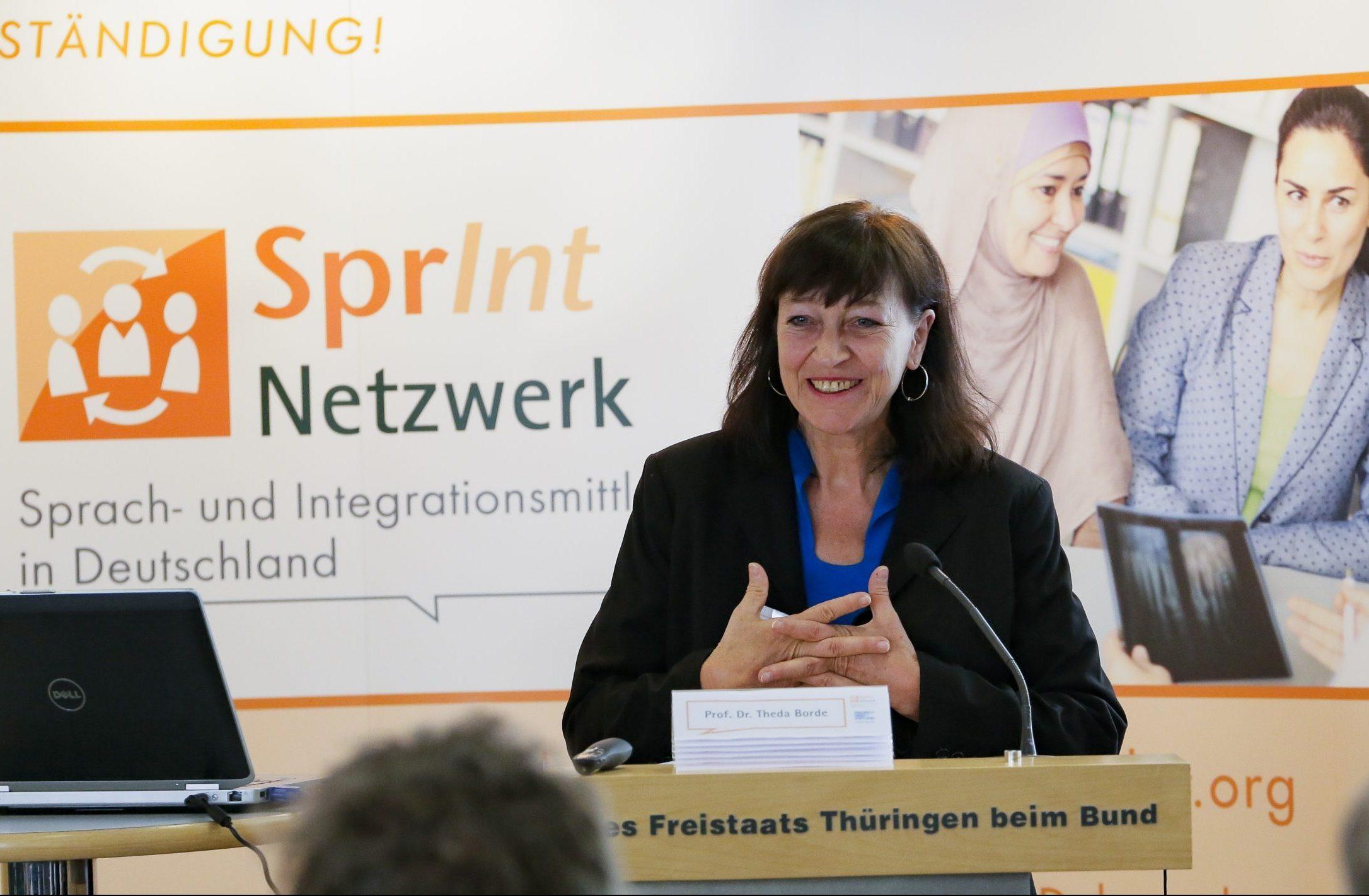 Grußwort von Prof. Dr. Theda Borde, Alice Salomon Hochschule Berlin